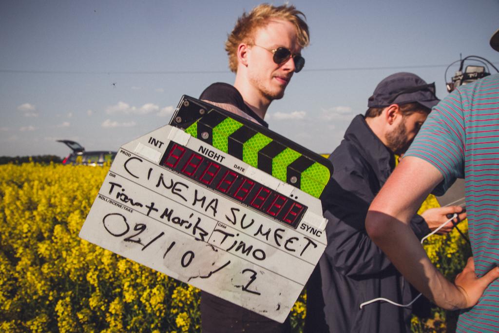 Set Fotos vom Cinema Sumeet Trailer Dreh
